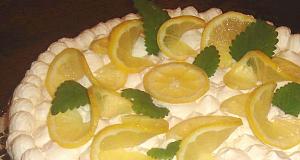 Tejszínes citromtorta recept főfotó