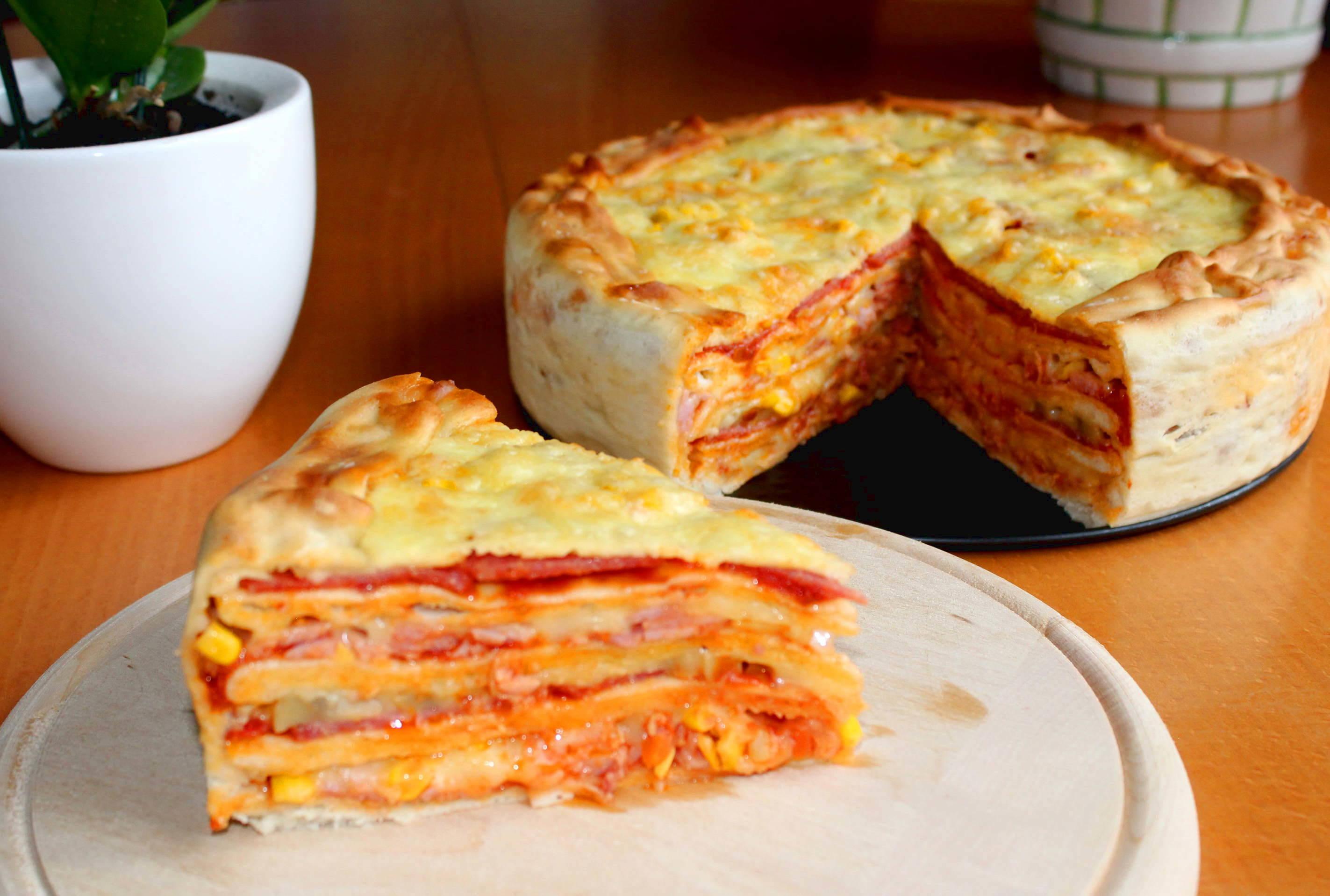 Pizzatorta recept főfotó
