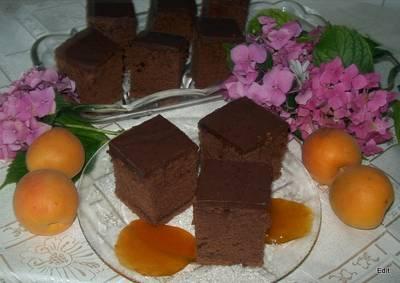 Bögrés csokoládés kocka