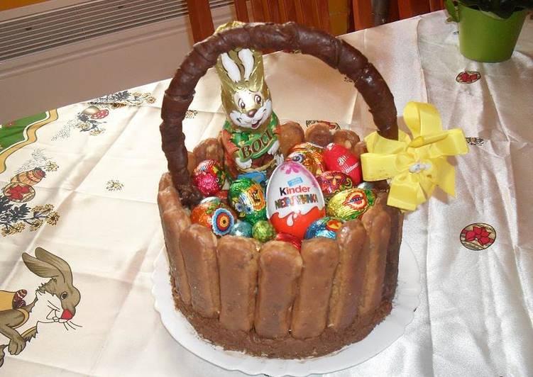 Húsvéti nyuszi kosár