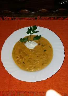 Krumplis zöldbabfőzelék