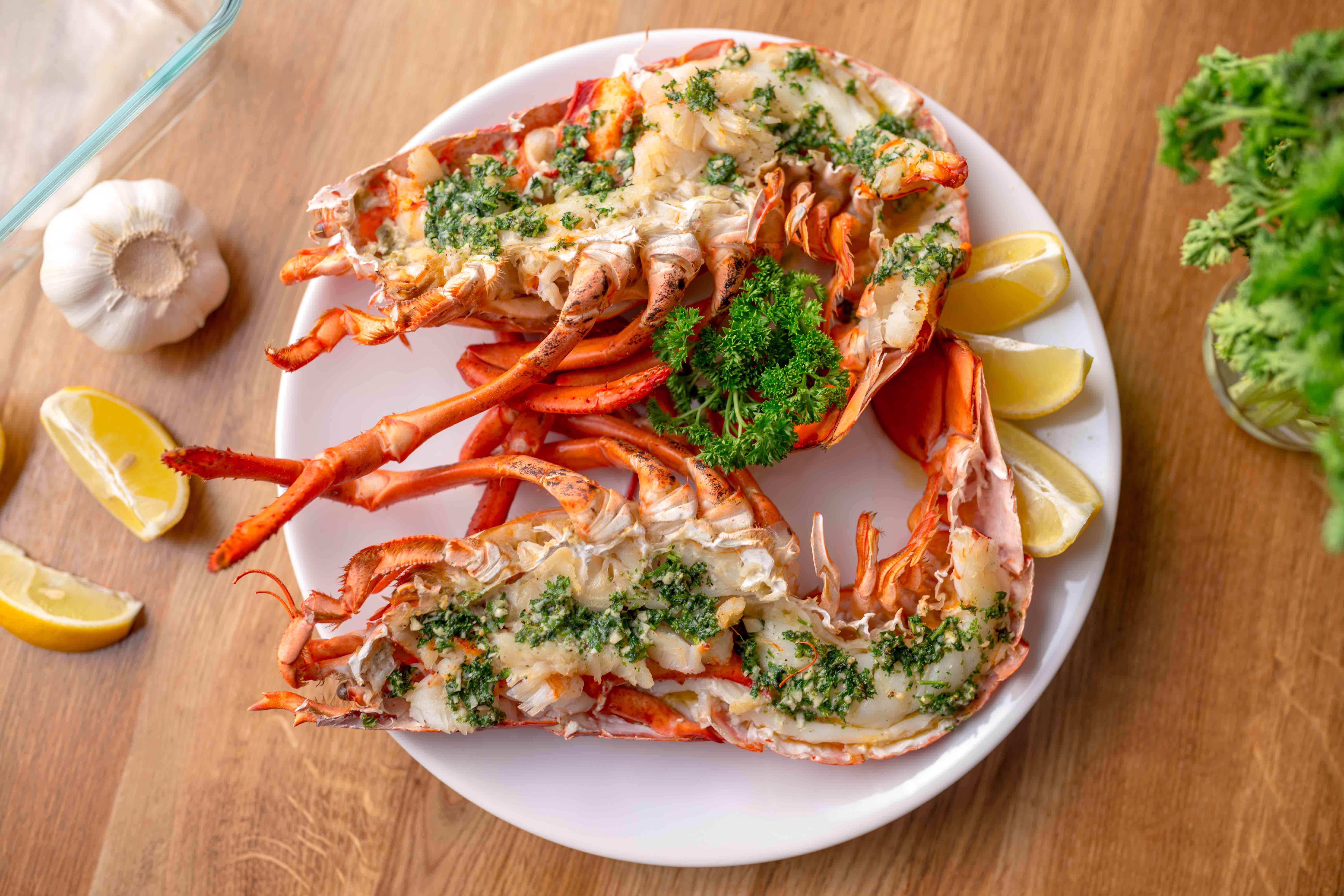Fűszervajas homár recept főfotó