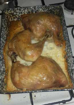 Sóban sült csirkecomb