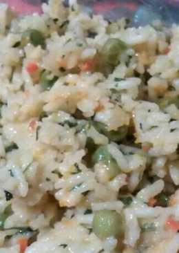 Zöldséges rizs a' la Gyöngyi