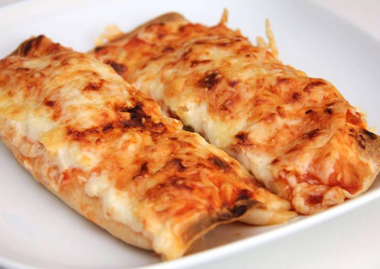 Salsa-csirkés Enchiladas