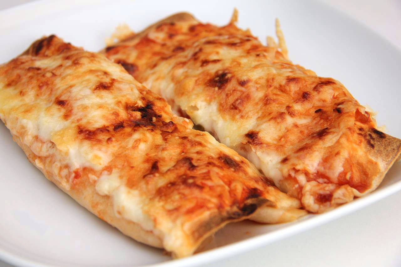 Salsa-csirkés Enchiladas recept főfotó