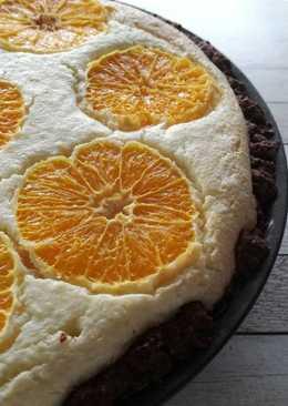 Narancsos- túrós pite
