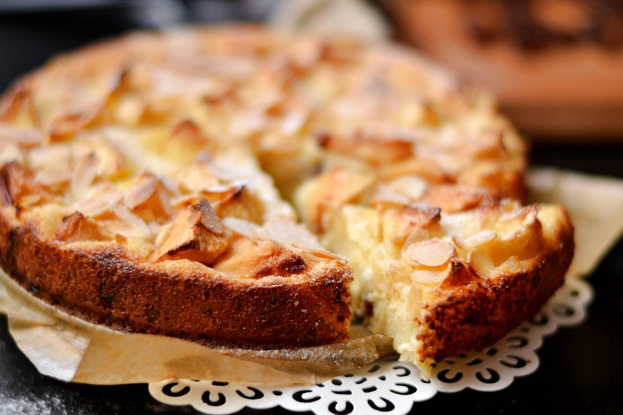 Almás-grízes-túrós süti recept főfotó