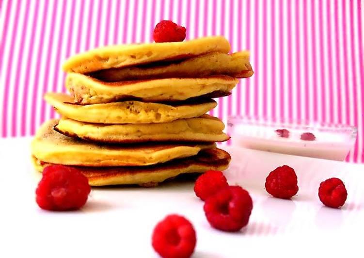 Málnás mini palacsinta vaníliás joghurttal (diabetikus)