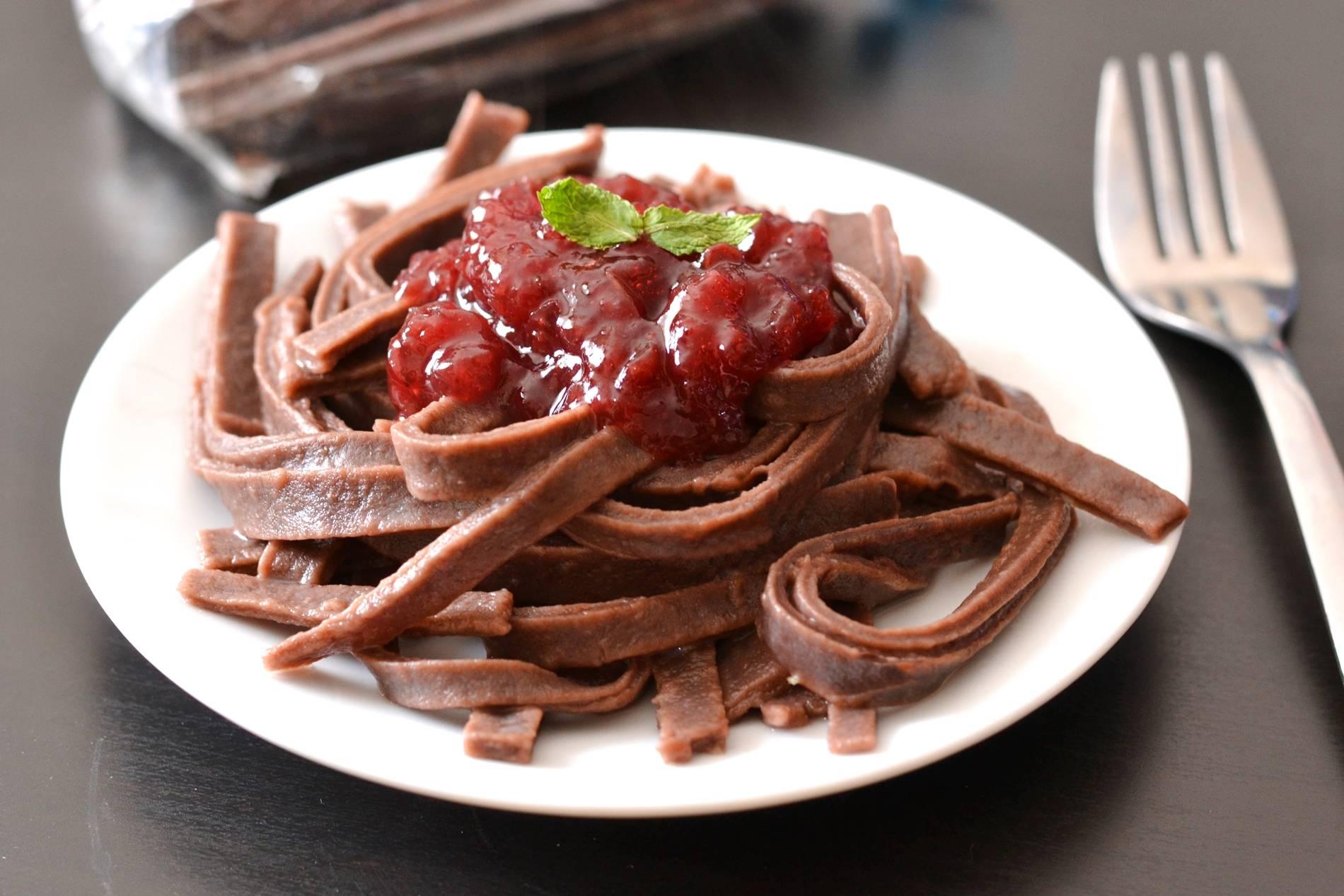Kakaós tészta recept málnadzsemmel főfotó