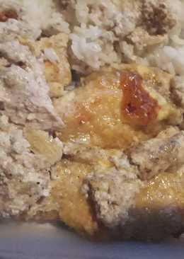 Tejszínes-sajtos csirkemell