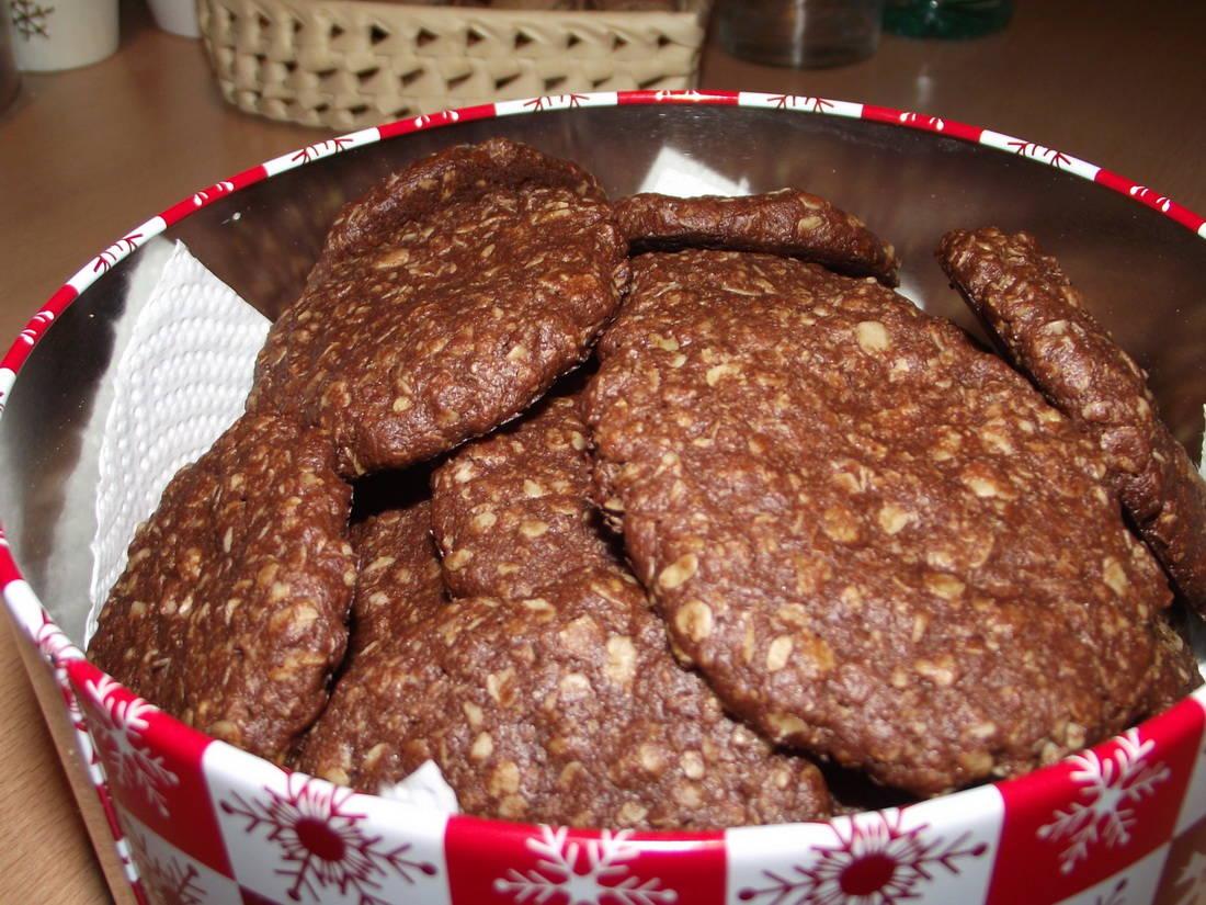 Csokis zabkeksz recept főfotó