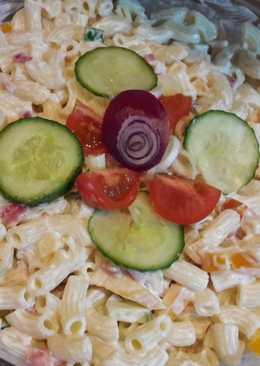 Szivárvány saláta