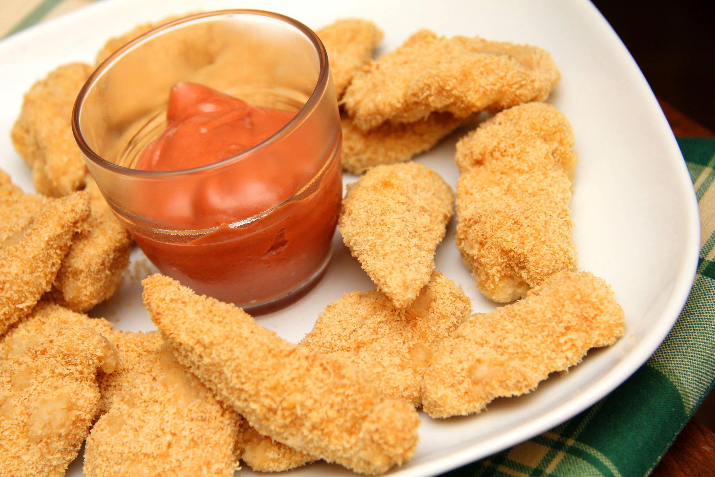 Parmezános csirke nuggets recept főfotó