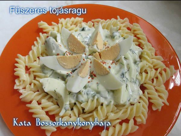 Fűszeres tojásragu (Gluténmentesen is)