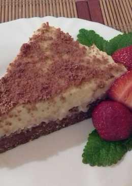Vaníliás kekszes torta
