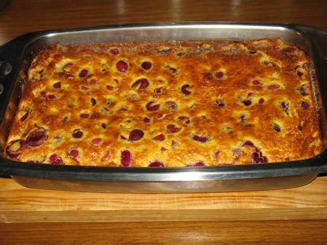 Cseresznyés clafoutis recept főfotó