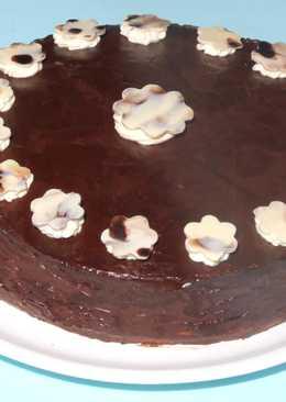 Fehércsokis - étcsokis torta recept mascarponéval