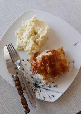 Rakott tejszínes karfiolos csirkemell