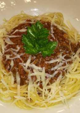 Házi bolognai spagetti
