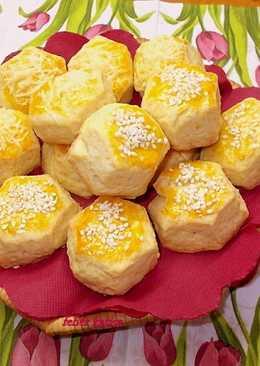 Omlós, puha sajtos pogácsa
