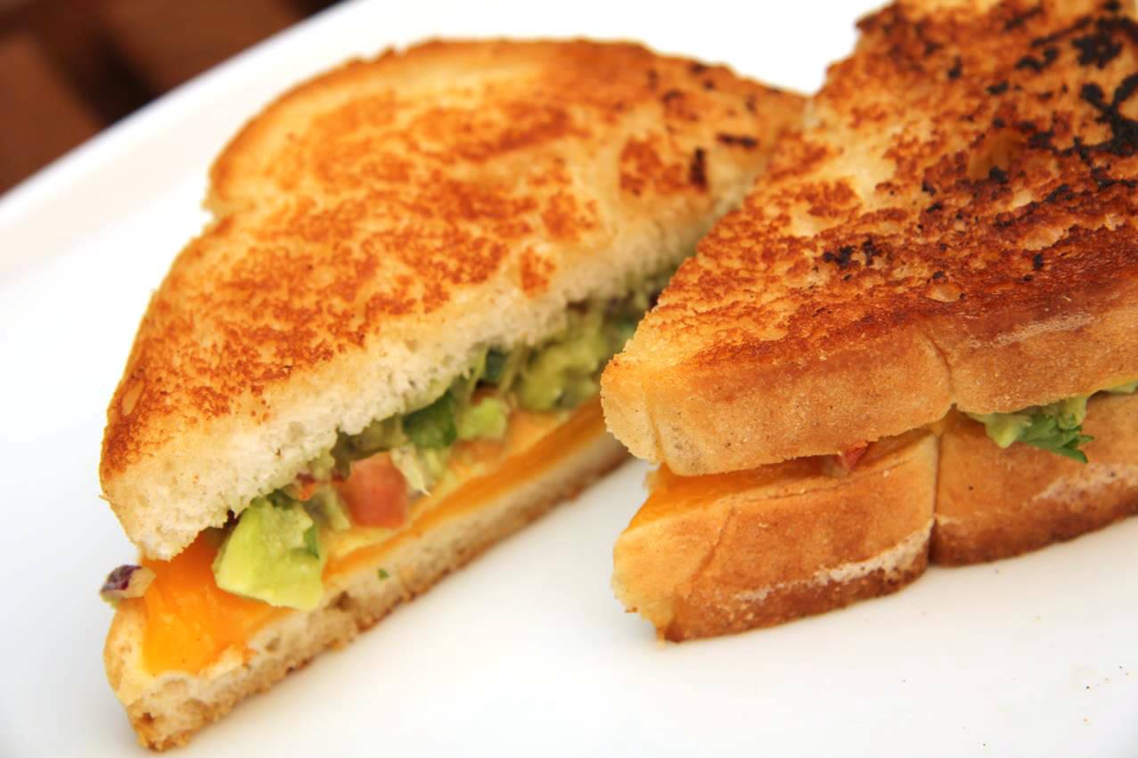 Guacamole melegszendvics recept főfotó