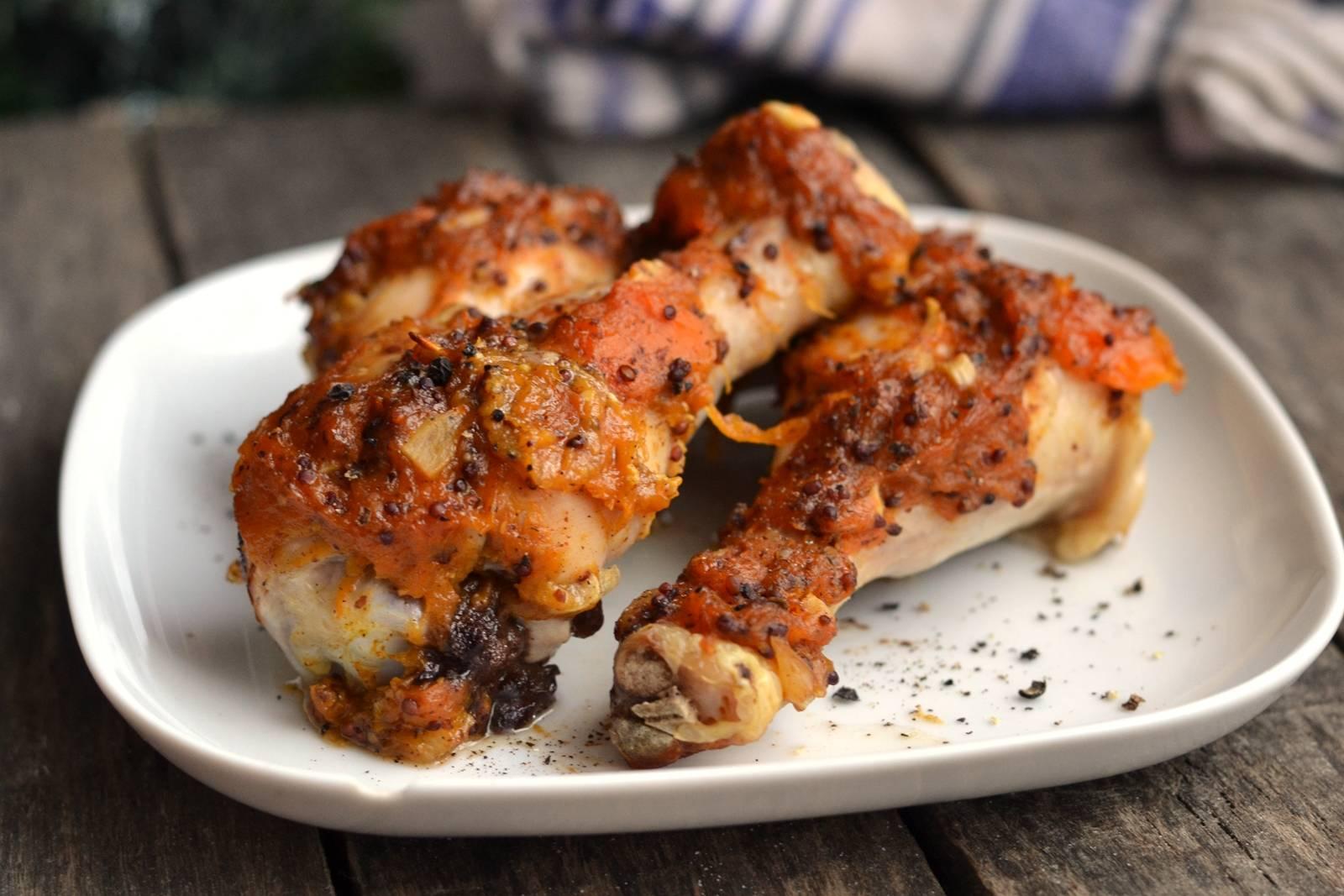 Sütőtökös, fűszeres csirkecomb recept főfotó