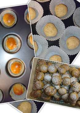Nutellás muffin fánk