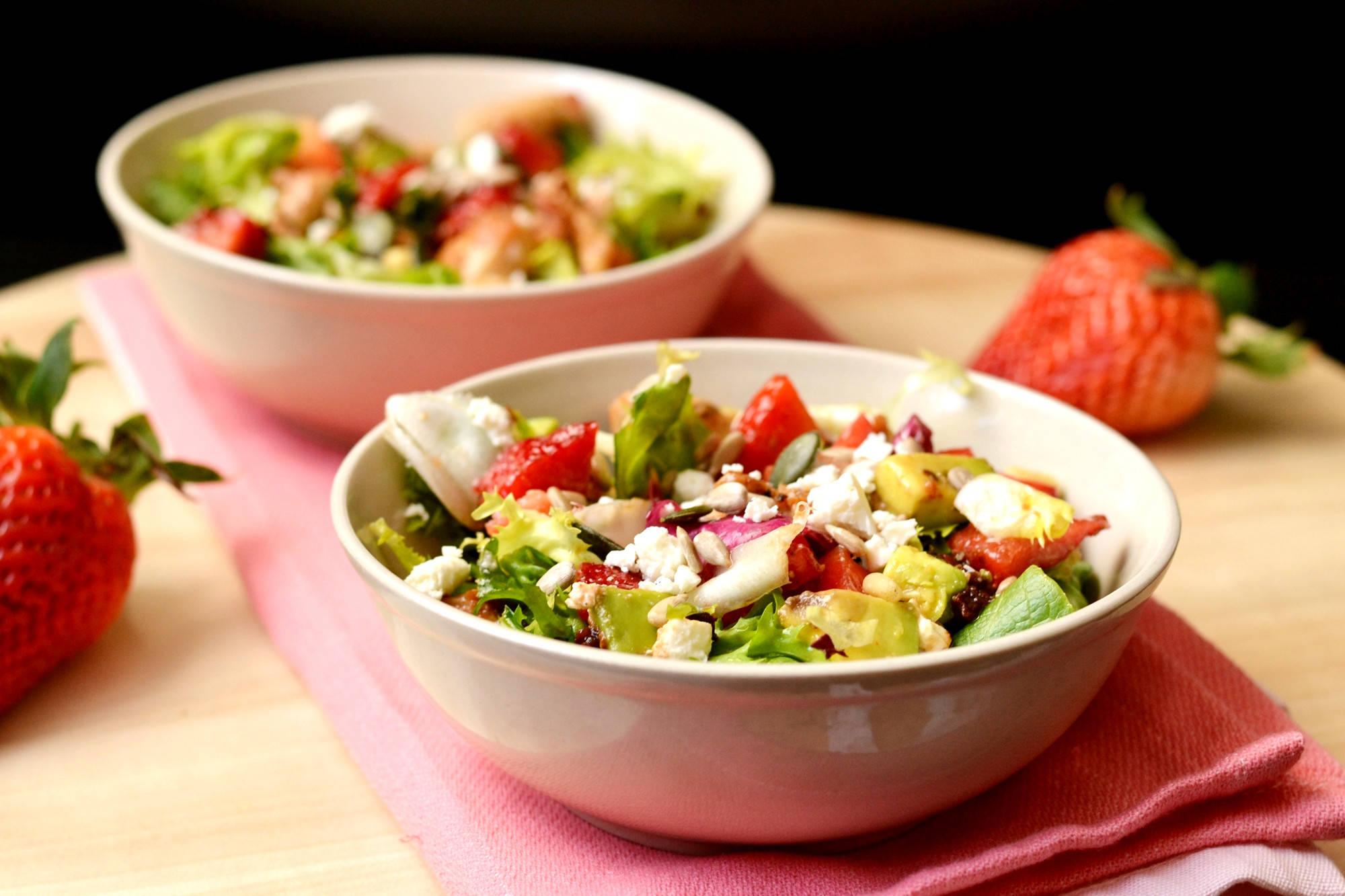 Epres-csirkés saláta recept főfotó