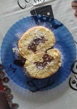 Csokipudingos Piskótatekercs 😉