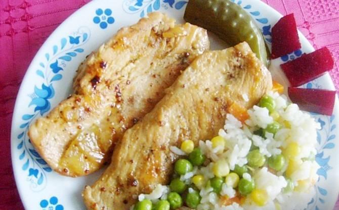 Édes, sörös csirkemell recept főfotó