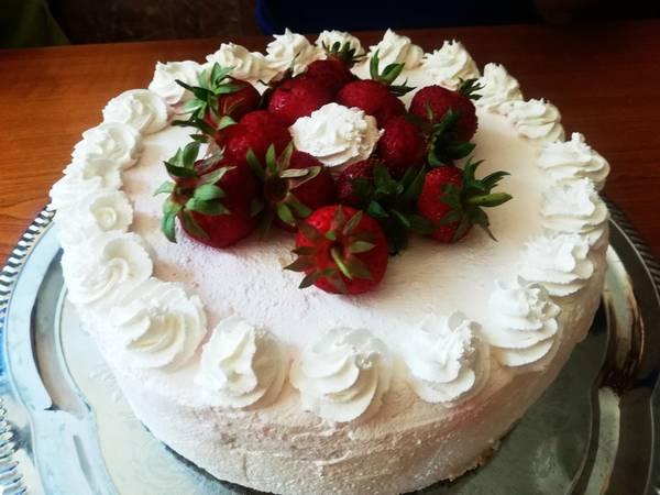 Epres-joghurtos torta