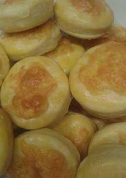 Krumplis túrópogácsa