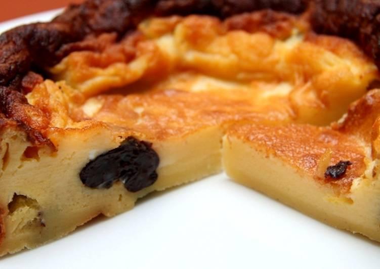 Aszalt szilvás breton recept (Far Breton)