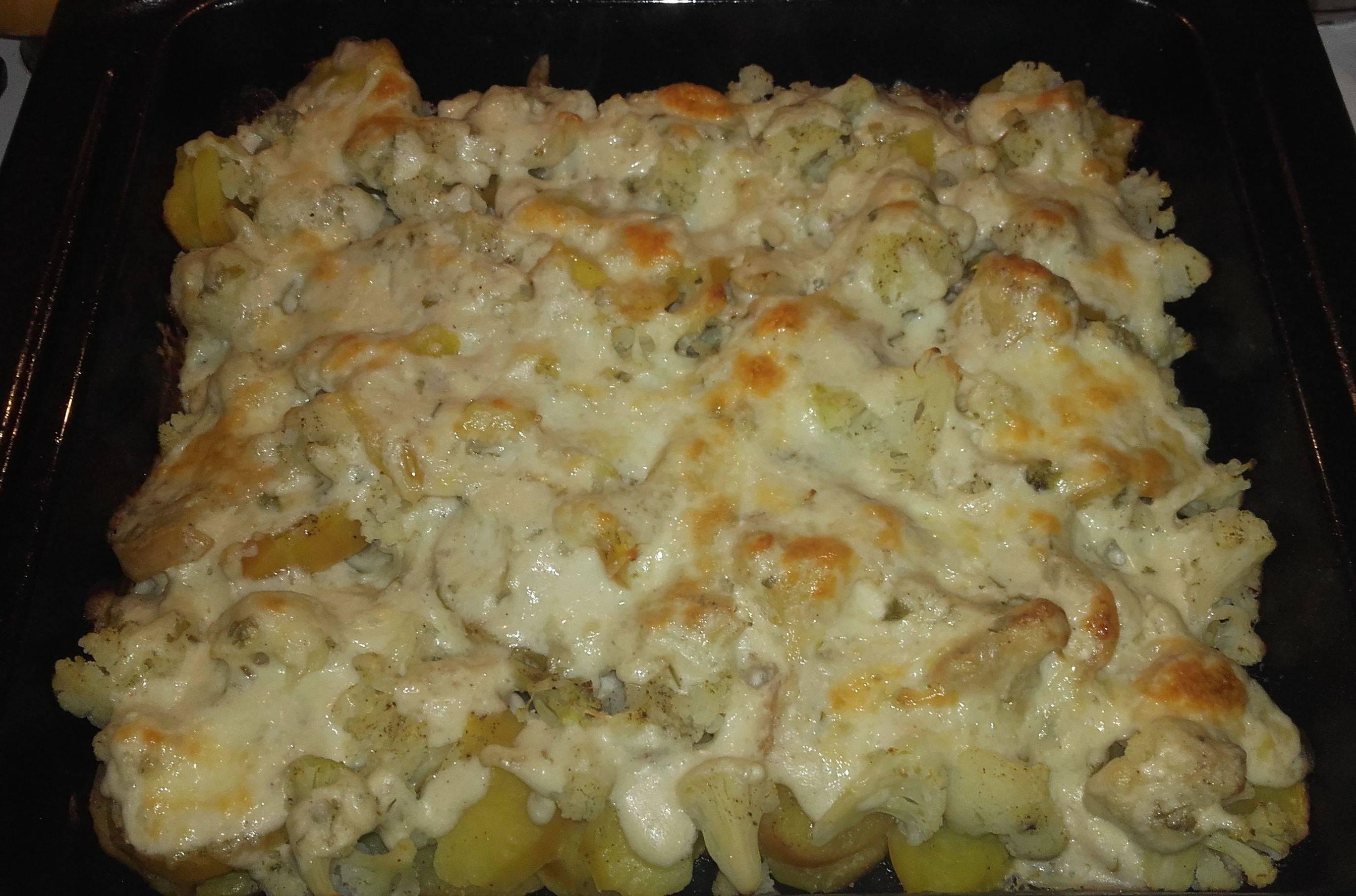 Karfiolos rakott krumpli recept főfotó