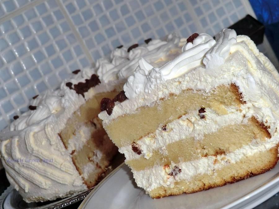 Oroszkrém torta recept főfotó
