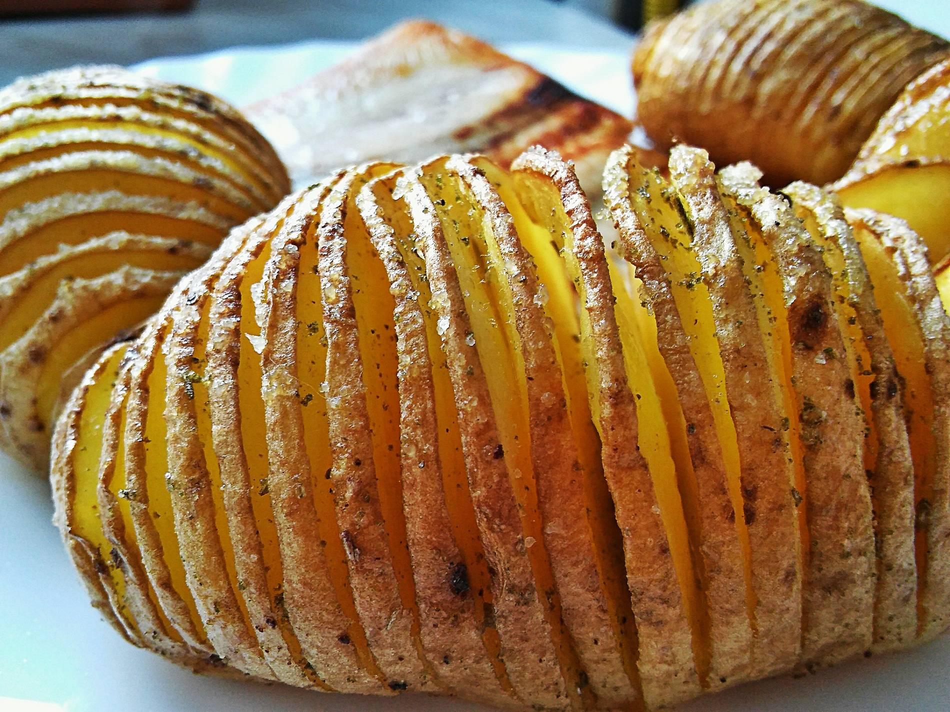 Rozmaringos Hasselback burgonya recept főfotó