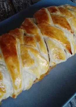Húsos pite leveles tésztából