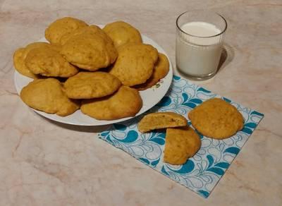 """Sütőtökös puffancs (""""puha töki-keksz"""")"""