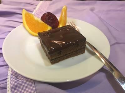 Szilvalekváros csokis brownie