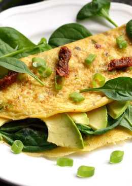 Avokádós omlett