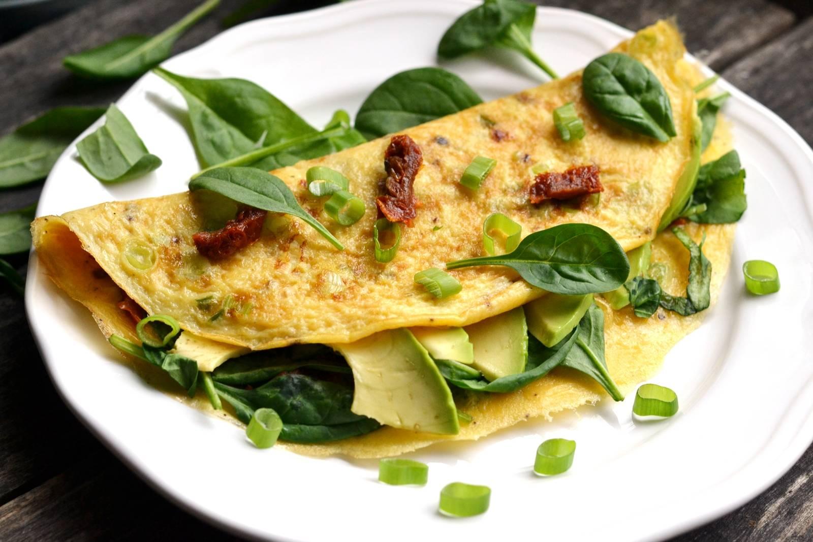 Avokádós omlett recept főfotó