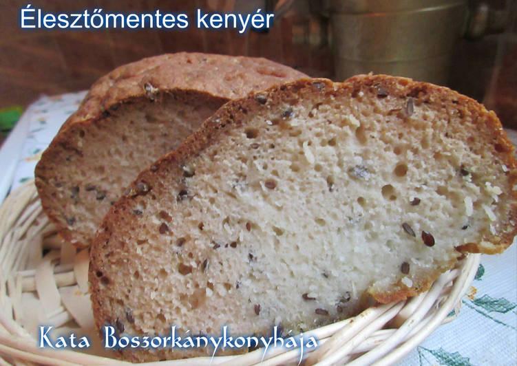 Élesztőmentes kenyér (Gluténmentes)