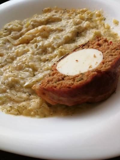 Görög joghurtos-kapros cukkini főzelék