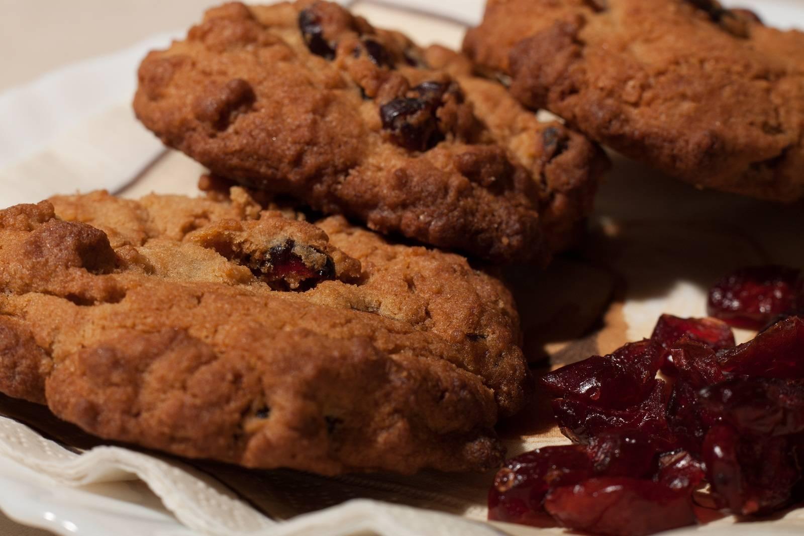 Áfonyás keksz recept főfotó
