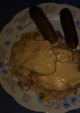 Rizibizi borsos tokány szószos disznóhús