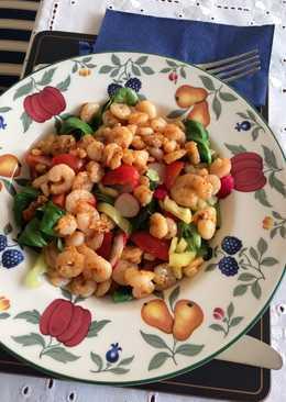 Shrimp saláta