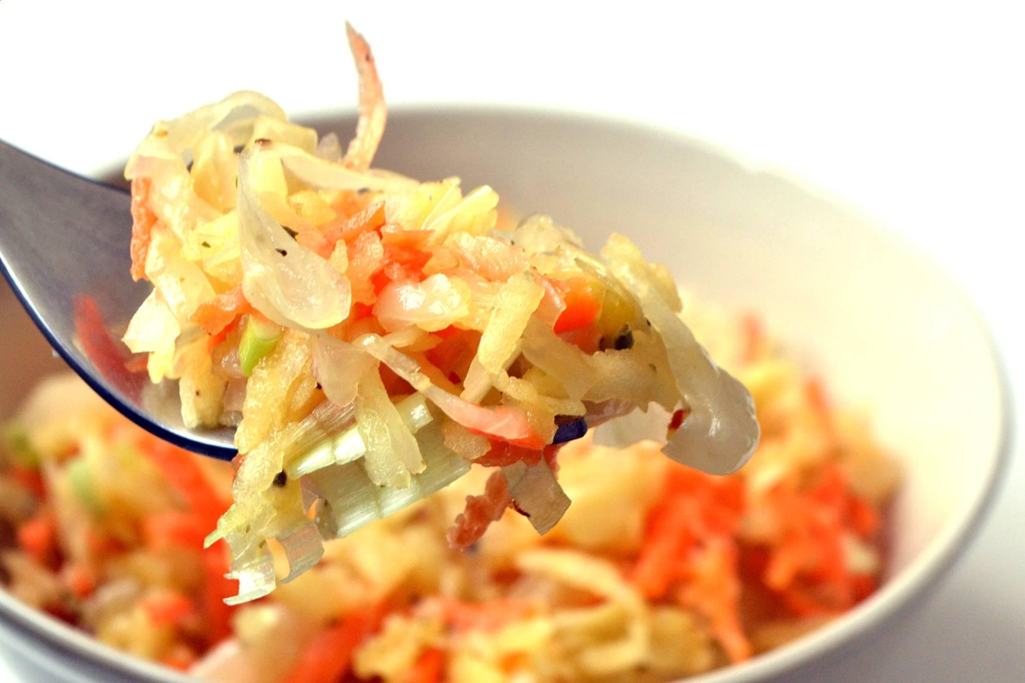 Lengyel savanyúkáposzta saláta recept főfotó