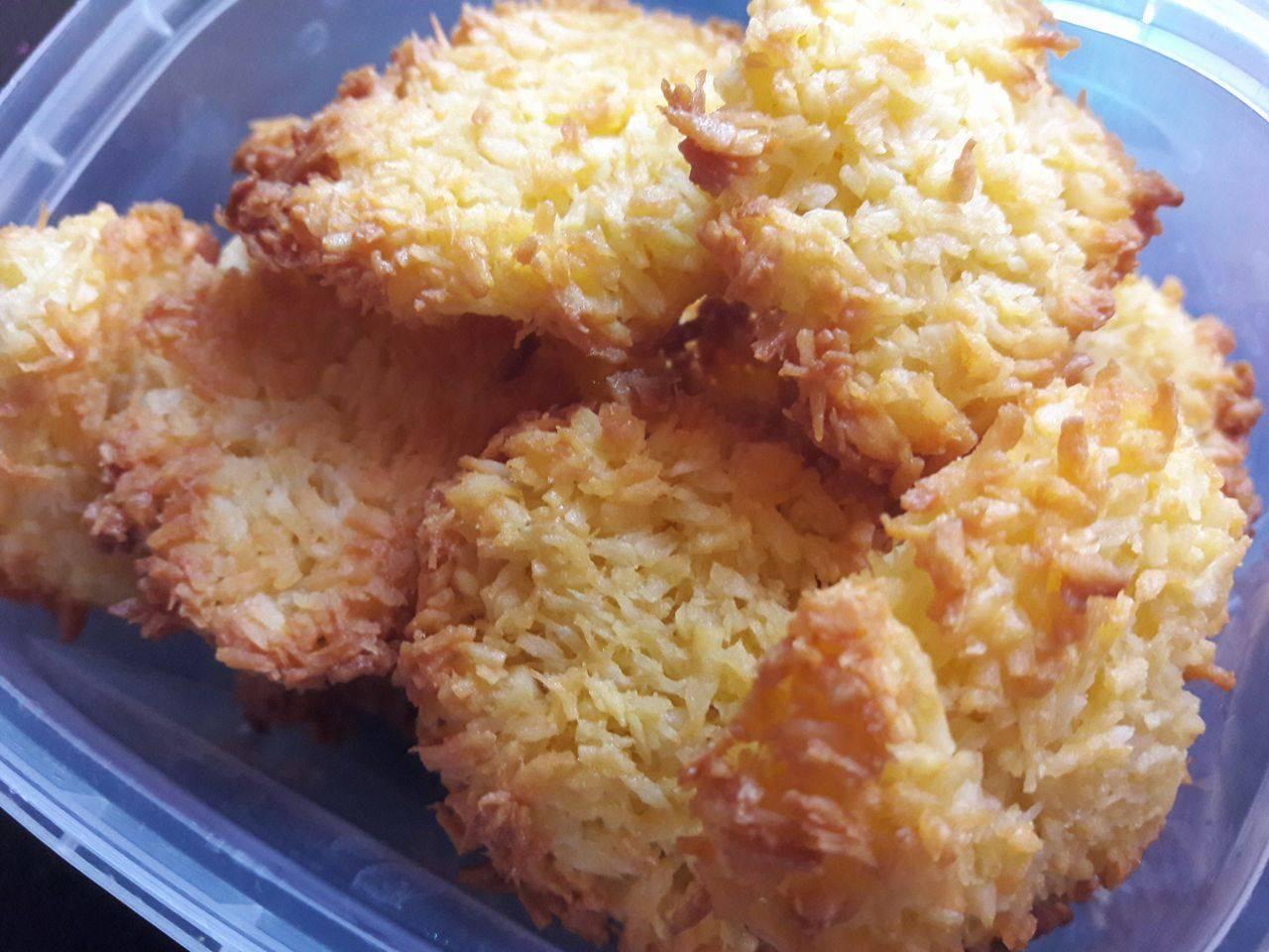 Diétás kókuszos keksz recept főfotó