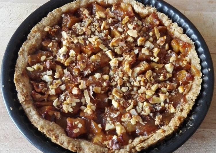 Almás-gyömbéres-karamelles pite